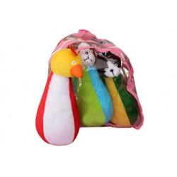 بولینگ پارچه ای حیوانات - شادی رویان