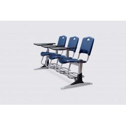 صندلی دانشجویی فایبرگلاس سه نفره - شیدکو