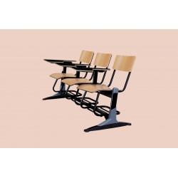 صندلی دانشجویی سه نفره MDF - شیدکو