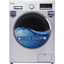 ماشین لباسشویی پاکشوما 8 کیلویی مدل WFU-80412 سیلور