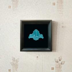 تابلو سرامیکی با لعاب فیروزه ای یا حسین(ع) کد 1076 - ماهرشک