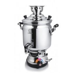 سماور گازی 8 لیتری با شیر استاندارد G-200- زمردیان