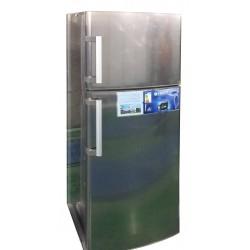 یخچال فریزر ES14 طرح تیتانیوم - الکترو استیل
