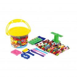 خکیر بازی سطلی 12 رنگ همراه با دی وی دی کد 1069 - آریا