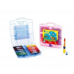 پاستا 24 رنگ کیفی پلاستیکی کد 2031 - آریا