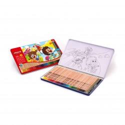 مداد رنگی 36 + 3 رنگ فلزی کد 3023 - آریا