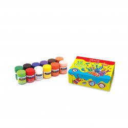 گواش 12 رنگ جعبه مقوایی کد 4028 - آریا