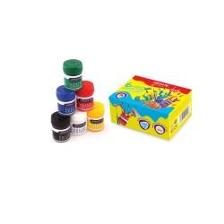 گواش 6 رنگ جعبه مقوایی کد 4027 - آریا