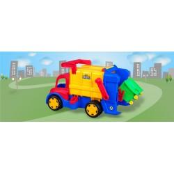 ماشين بازي زرين تويز مدل کامیون حمل زباله The Trash Truck F3
