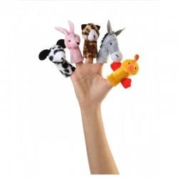 عروسک انگشتی حیوانات مزرعه - شادی رویان