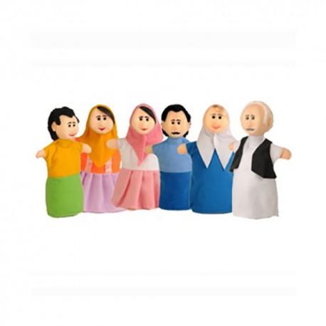 عروسک نمایشی خانواده - شادی رویان