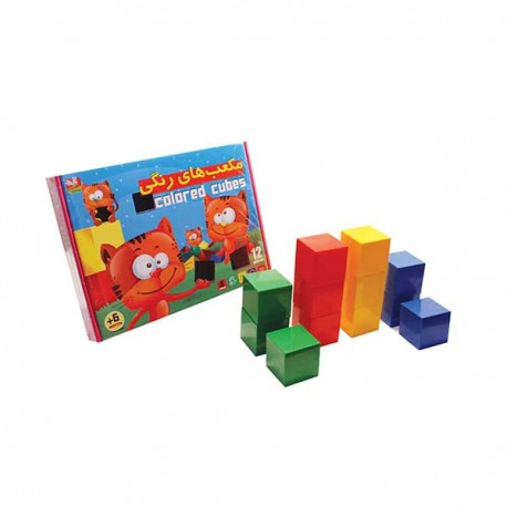 مکعب های رنگی - سنجاقک